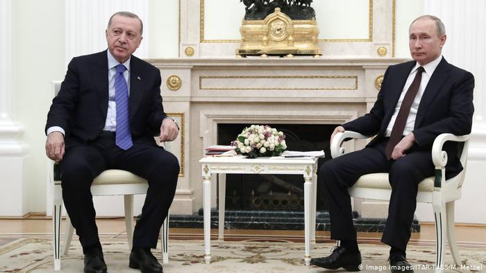 Putin da Erdogan sun zanta kan Libiya