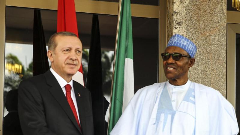 Erdogan ya tattauna da Buhari