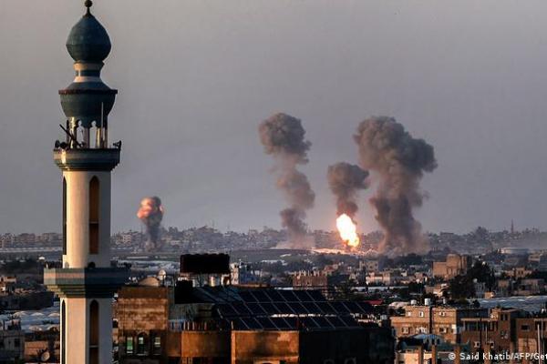 Bukin sallah cikin tashin hankali a Gaza