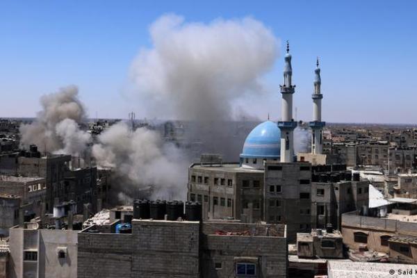 Masar na taimaka wa Falasdinawa a Rafah