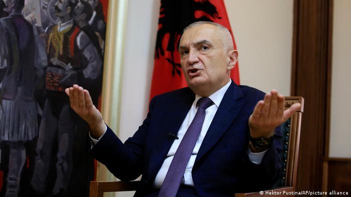 An tsige shugaban kasar Albaniya