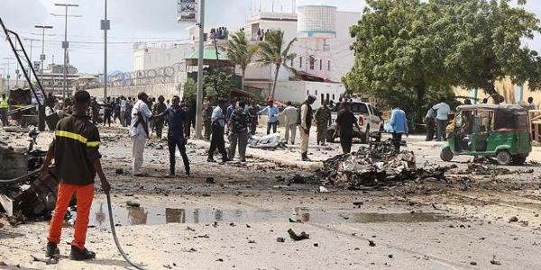 An kashe sojoji 5 a harin bam a Somaliya