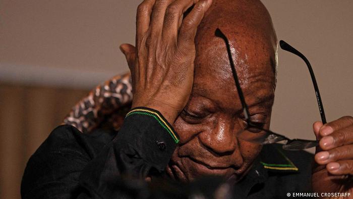 Jacob Zuma zai ci gaba da zaman kurkuku
