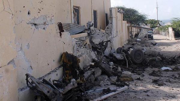A-shabaab ta kai tagwayen hari a Somaliya