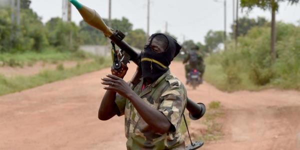 An kaiwa sojoji hari akan iyakar  Ivory Coast da Burkina Faso