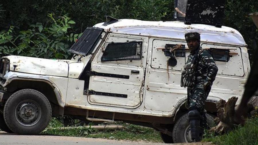 An kashe 'yan a ware 8 a Jammu-Kashmir