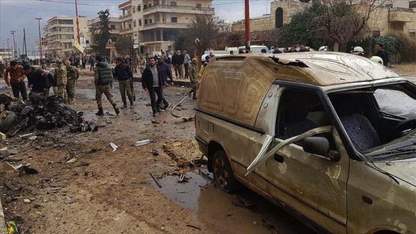 An kashe mutane 9 a harin bam a Afrin