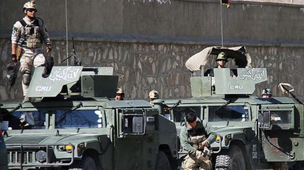 'Yan ta'addar Taliban sun kashe jami'an tsaro 14 a Afganistan