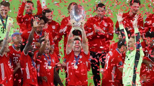 Bayern Munich ta lashe UEFA Super Cup