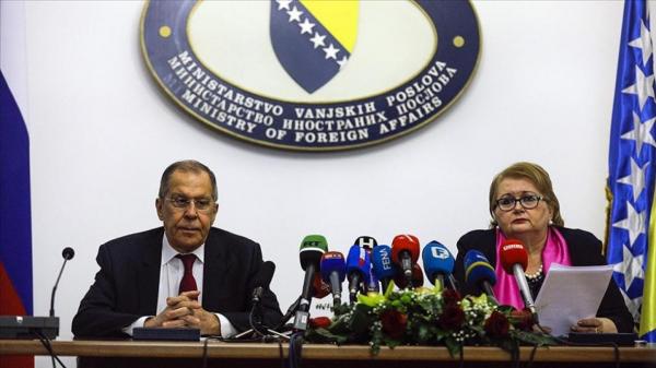 Lavrov ya tattauna da takwararsa ta Bosniya da Herzegovina