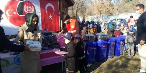 Turkiyya ta baiwa marayu taimako a Afganistan