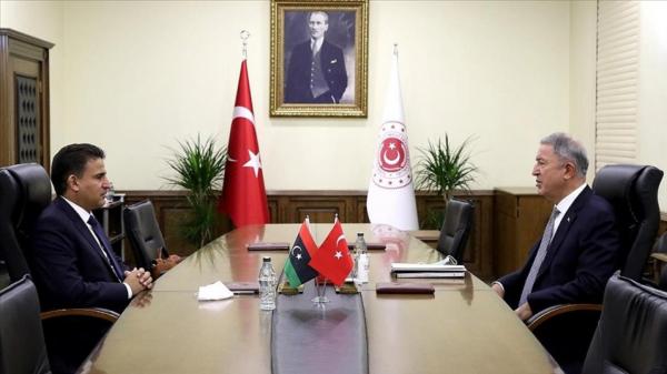 Ministan tsaron Turkiyya ya tattauna da takwaransa na Libiya a Istanbul