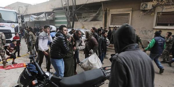 Mutum 10 sun hallaka a harin ta'addancin a Siriya