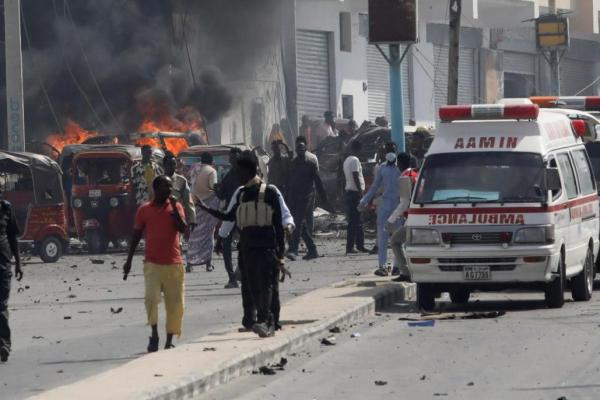 An kashe mutane 15 a harin bam a Somaliya