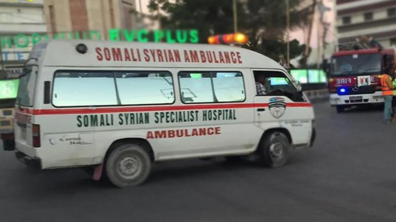 An kaiwa motar 'yan kwallon kafa harin bam a Somaliya