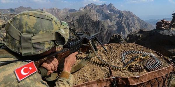 An kassara 'yan ta'addan PKK 5 a Iraki