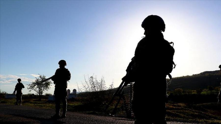 'Yan ta'addar PKK sun kona wani gida a Iraki